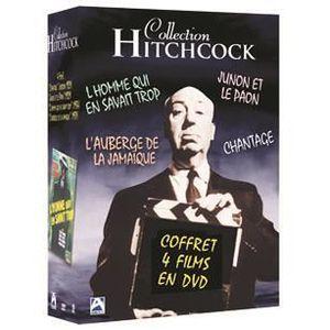 DVD FILM DVD Coffret hitchcock : l'homme qui en savait t...