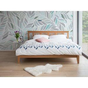 lit double 180x200 achat vente pas cher. Black Bedroom Furniture Sets. Home Design Ideas