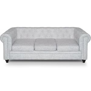 Canap chesterfield tissu achat vente canap for Divan man chesterfield