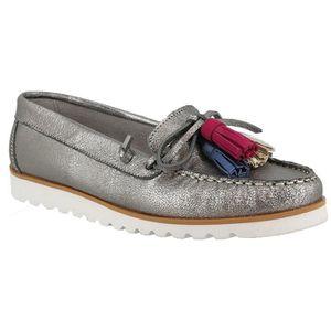 Coco & Abricot V0948E Plomb - Chaussures Mocassins Femme