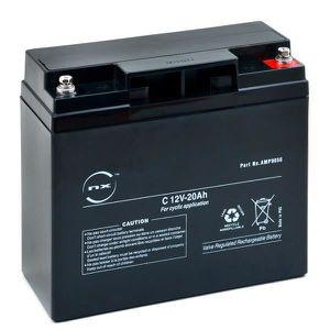 BATTERIE DOMOTIQUE NX - Batterie plomb AGM C 12V-20Ah 12V 20Ah F-M5
