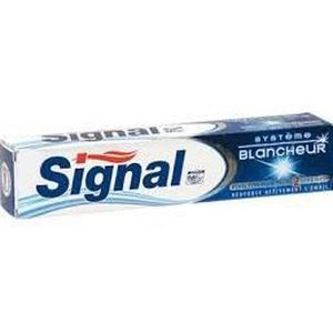 DENTIFRICE Signal Dentifrice système blancheur 75ml