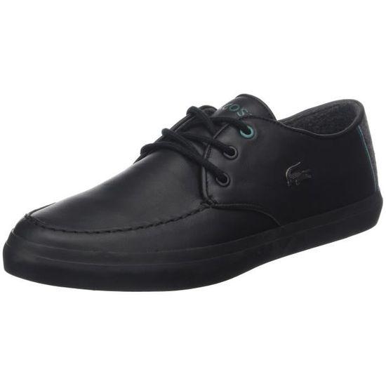 Lacoste Sevrin hommes 417 1 Cam Sneakers-top 1AUN3Q Taille-39 Noir Noir - Achat / Vente basket