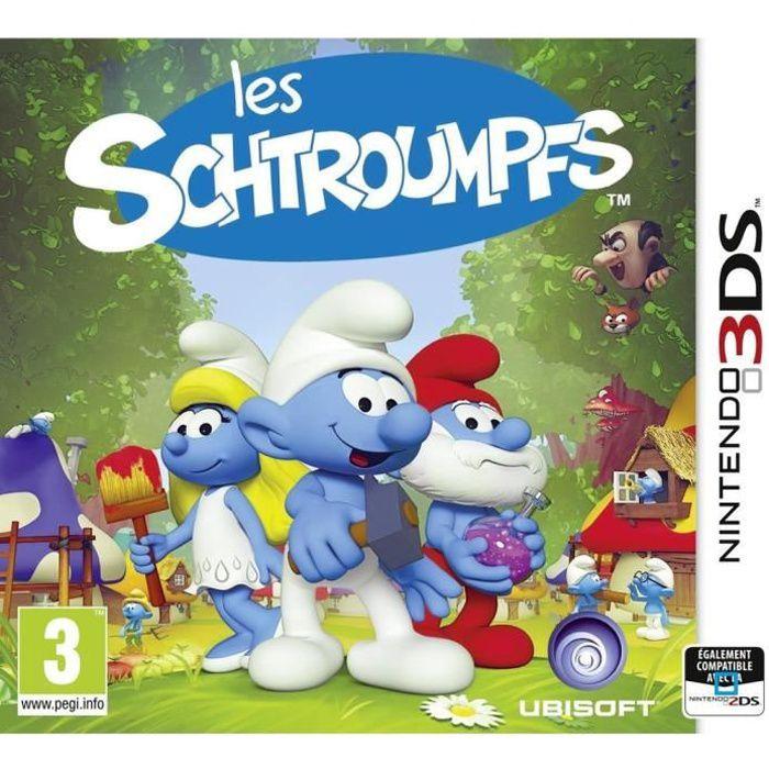 Les schtroumpfs jeu 3ds achat vente jeu 3ds les schtroumpfs 3ds cdiscount - Schtroumpf maison ...