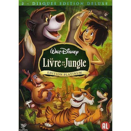 Le Livre De La Jungle En Dvd Dessin Anime Pas Cher Cdiscount