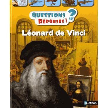 Livre 6-9 ANS Léonard de Vinci