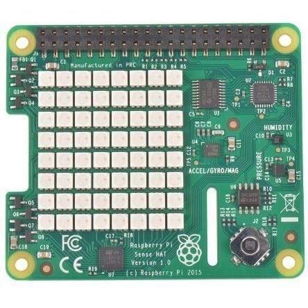 RASPBERRY PI Carte d'extension avec capteurs intégrés Sense Hat