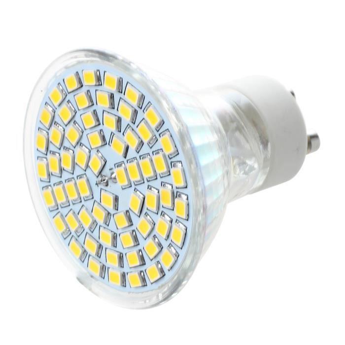 Blanc Led Gu10 Smd 60 Ampoule 5w Chaud 4 Bulb A Qcbeoerwdx Lampe N80nvwm