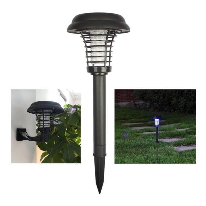 Lampe anti moustique solaire à LED anti insecte ex 1329a244dee8
