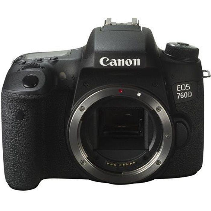 4dbaa4ad18f2f CANON EOS 760D nu - Achat   Vente appareil photo réflex - Cdiscount