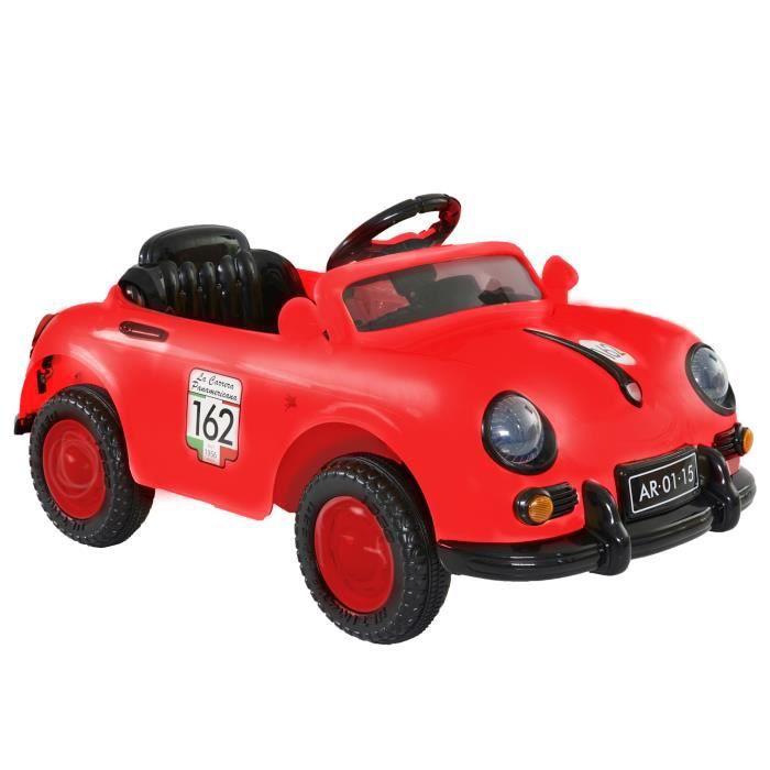 MGM Auto Rétro Electrique Rouge - Achat   Vente voiture enfant ... b72f5b55a82
