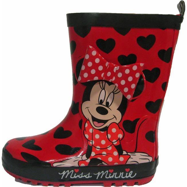 Bottes en caoutchouc Minnie
