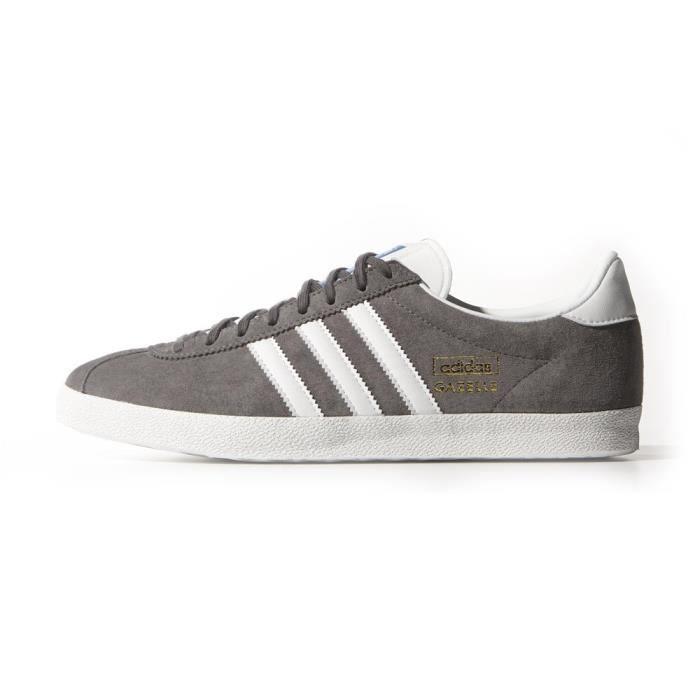 Adidas Gris G51304 Og Cuir Achat Gazelle Chaussure 8Rw7qv6p