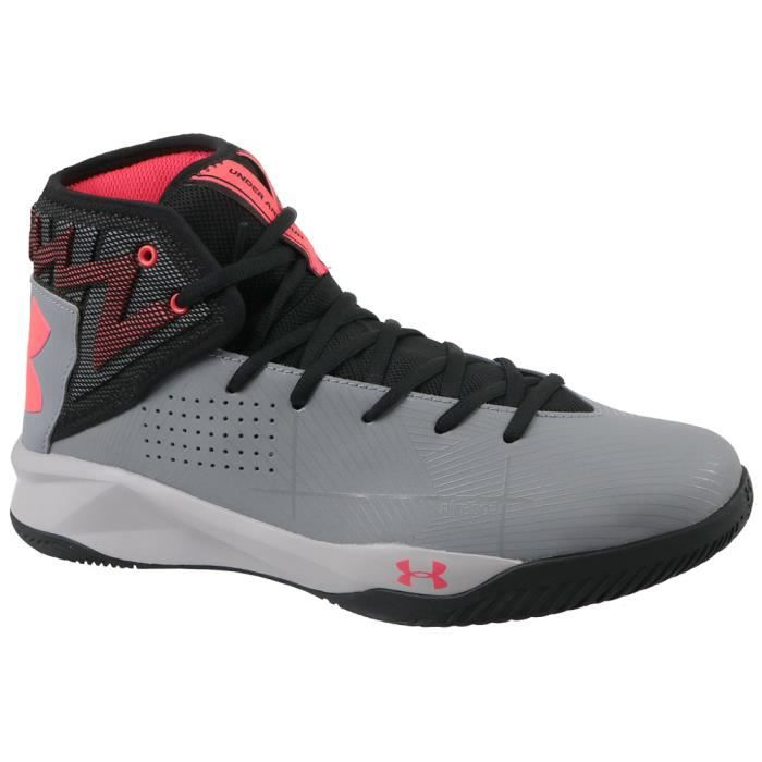 d334c3d534d UNDER ARMOUR Chaussures de basketball Rocket 2 - Gris Gris - Achat ...