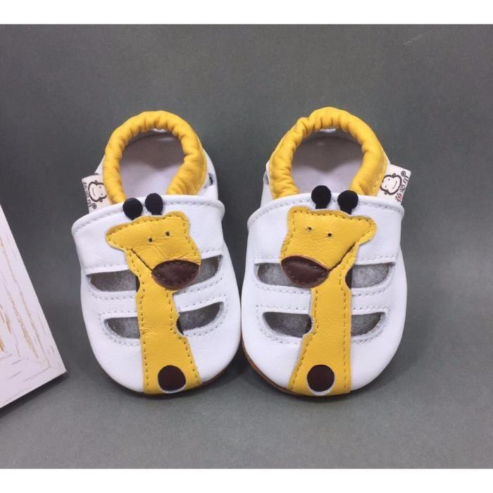 cute bird étoiles chaussures de bébé doux bambin Chaussons Bébé en Cuir Doux skAFru