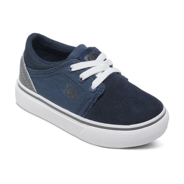 DC SHOES Trase Slip Chaussure Bebe Garcon - Taille 25.5 - BLEU 0aJN87