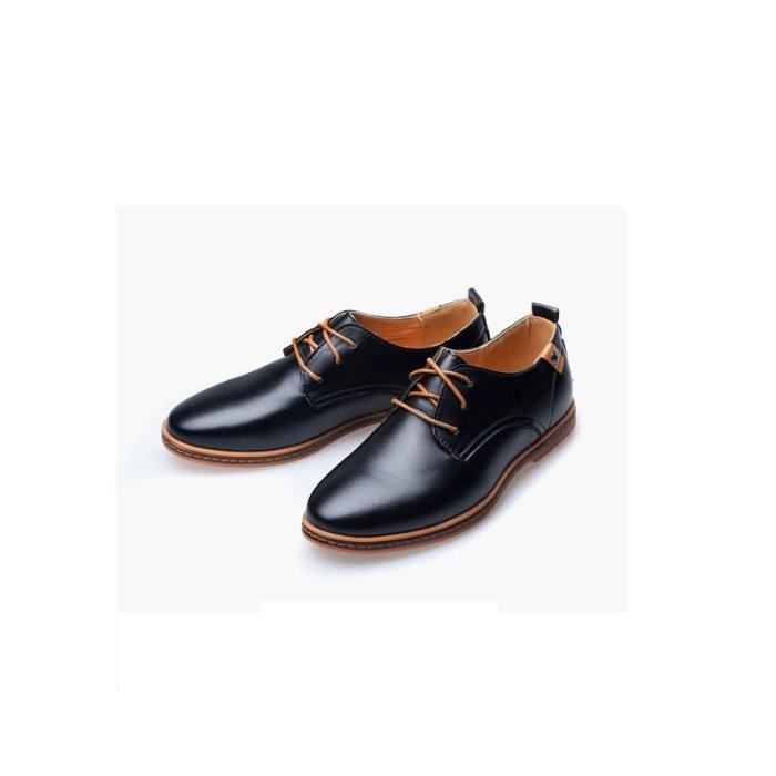 Grande taille dentelle casual chaussures des ho...