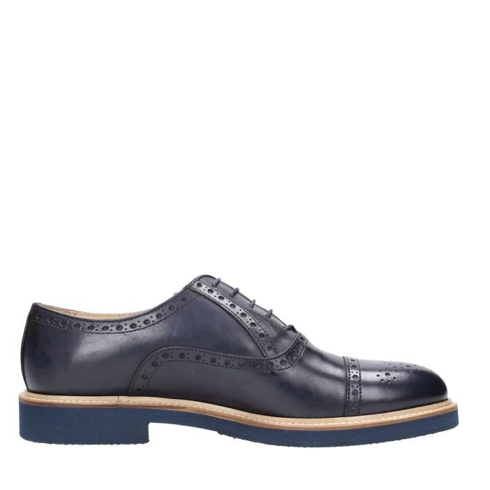 Henry Lobb Lace Shoes Homme Brown Blue yPsfzla9t