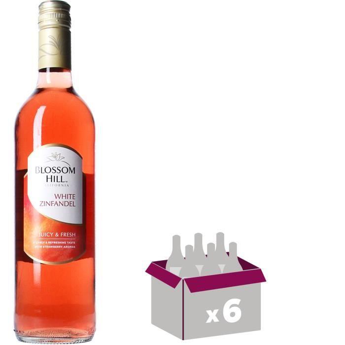 NOTTAGE HILL White Zinfandel Vin de Californie - Rosé - 75 cl x 6VIN ROUGE