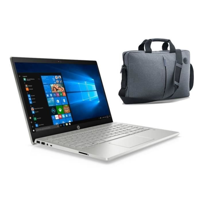 """Pack HP PC Portable 15-dw0105nf - 15""""FHD - i7-8565U - RAM 16Go - Stockage 128Go SSD + 1To HDD -"""