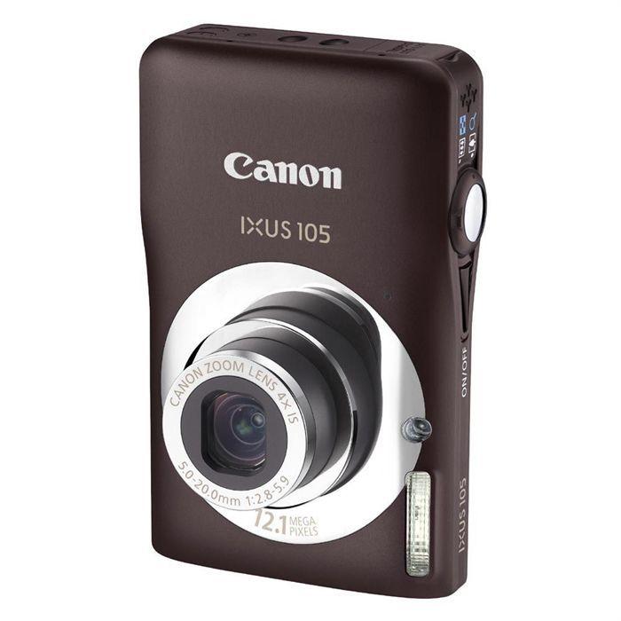APPAREIL PHOTO COMPACT Appareil photo numérique CANON Ixus 105 Marron