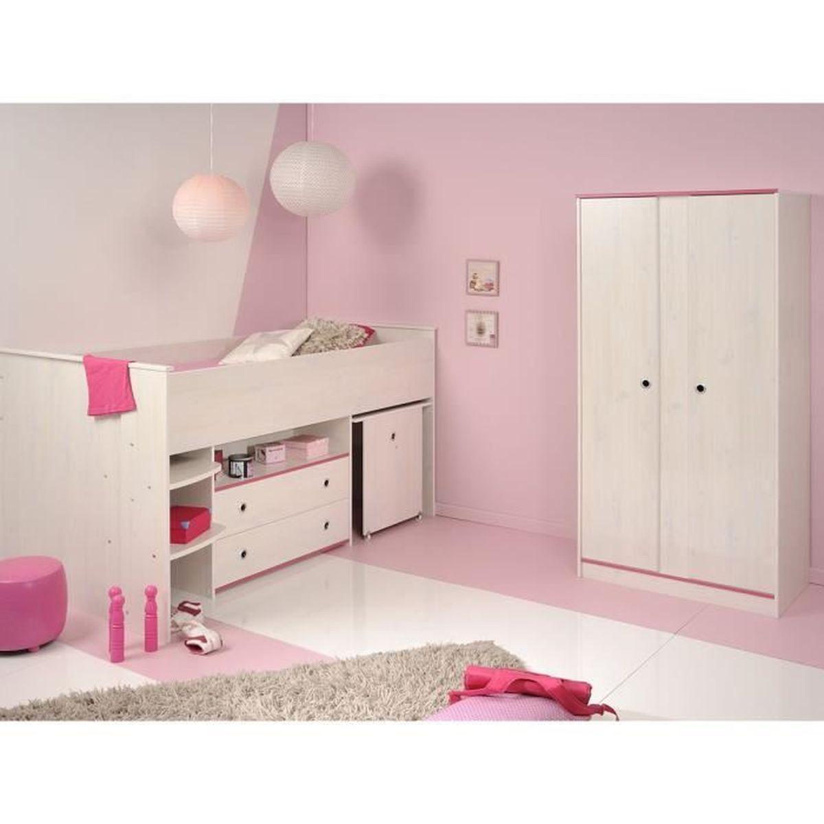 Lit combin armoire lit armoire mobilier enfants with lit - Lit combine armoire ...