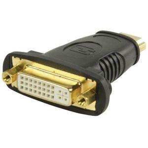 VALUELINE Adaptateur HDMI High Speed avec Ethernet Connecteur HDMI - DVI-D 24 + 1 broches Femelle Noir
