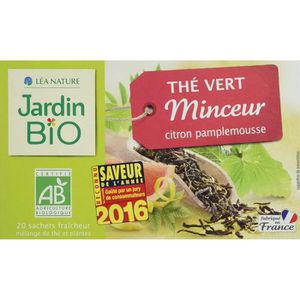 THÉ Jardin Bio Thé Vert Minceur 30 g - Lot de 4