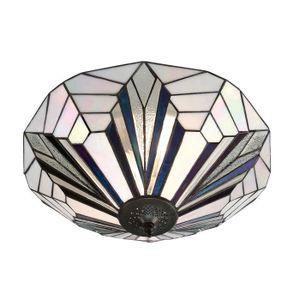 LAMPE A POSER Astoria Grand Tiffany  Deux Lumière Plafonnier Pla