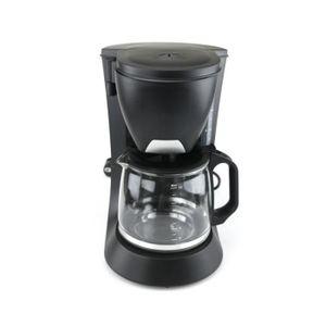 CAFETIÈRE Cafetière filtre - 6 tasses - verseuse en verre -