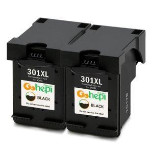 CARTOUCHE IMPRIMANTE 2 Compatible hp301 Cartouche d'encre noir pour HP