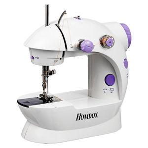 MACHINE À COUDRE Machine de couture Mini Deux fils à double vitesse