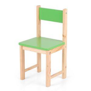 Petite chaise bois enfant achat vente petite chaise for Chaise bois coloree