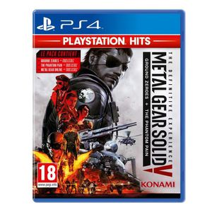 JEU PS4 Metal Gear Solid V: The Definitive Experience (PS4