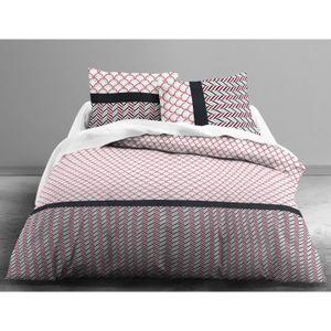 housse de couette achat vente housse de couette pas cher soldes d s le 10 janvier cdiscount. Black Bedroom Furniture Sets. Home Design Ideas