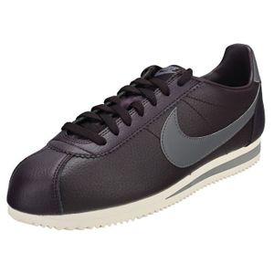 various colors 56c8a 22283 BASKET Nike Classic Cortez Homme Baskets Violet Gris
