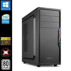 UNITÉ CENTRALE  PC de Bureau, Intel 2x3.1GHz, 8Go RAM, SSD