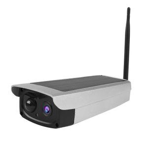 CAMÉRA IP Caméra IP solaire Extérieur HD 1080P Caméra Vidéo