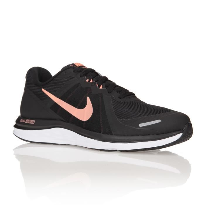 low priced aa71f 3518f NIKE Baskets Chaussures de Running Dual Fusion X2 Femme