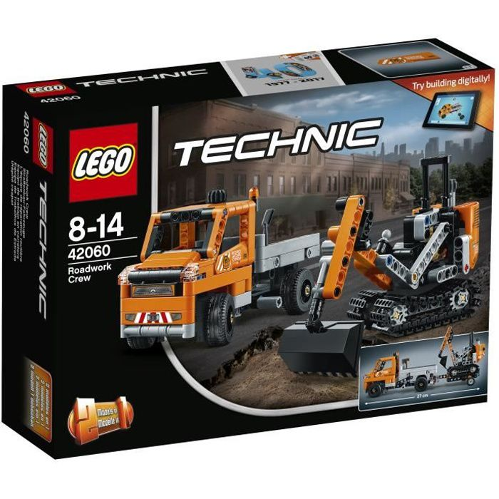 LEGO® Technic 42060 L'Équipe de Réparation routière
