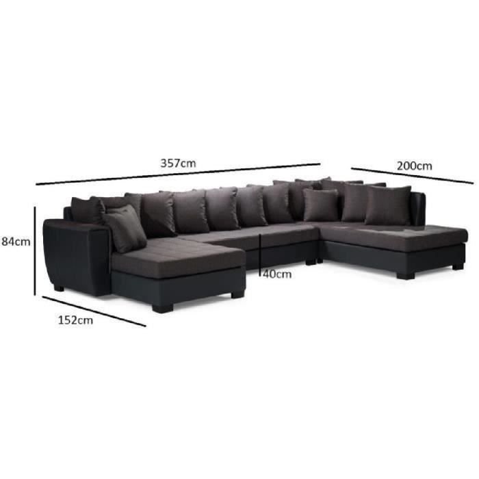 Canape 2 angles - Achat   Vente pas cher 86c909b182be