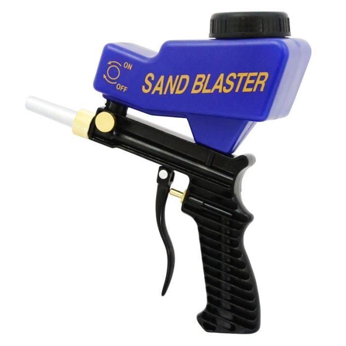 SABLEUSE Anti-rouille Sablage pistolet anti-gravité Type de