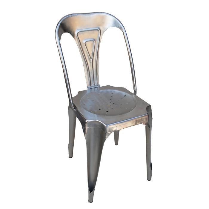 chaise Achat le CHAISE ACIER Soldesdès 9 Vente 0OPnwk