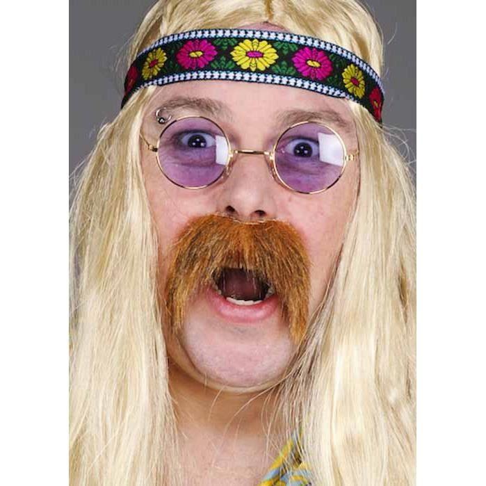 Hippie lunettes violet - Achat   Vente accessoire déguisement ... f8b38921a1ff