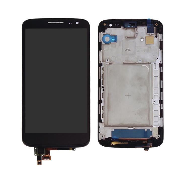 Ecran LCD Vitre Tactile Chassis Pour LG G2 Mini D618 D620 D621 NoirAvec Outils