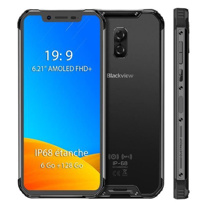 SMARTPHONE Smartphone 6Go+128Go Blackview BV9600 Pro Écran 6.