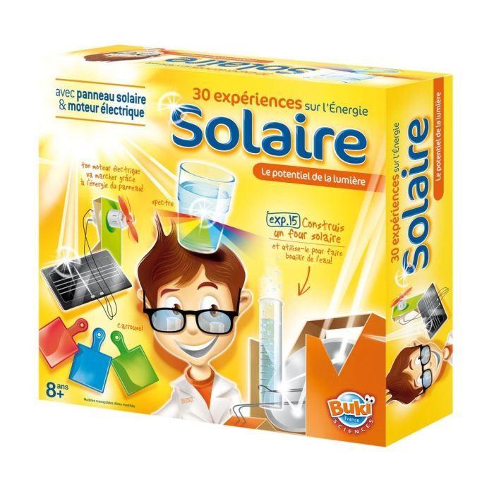30 exp riences sur l 39 energie solaire achat vente exp rience scientifique cdiscount. Black Bedroom Furniture Sets. Home Design Ideas