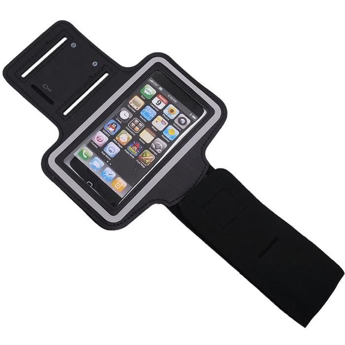 5ee3ab91efd 5.5-inch Sport Jogger Courir Titulaire Brassard Téléphone Accessoire Bras  Atockage Housse Etui Pour iPhone 6 Plus - 6S Plus – Noir