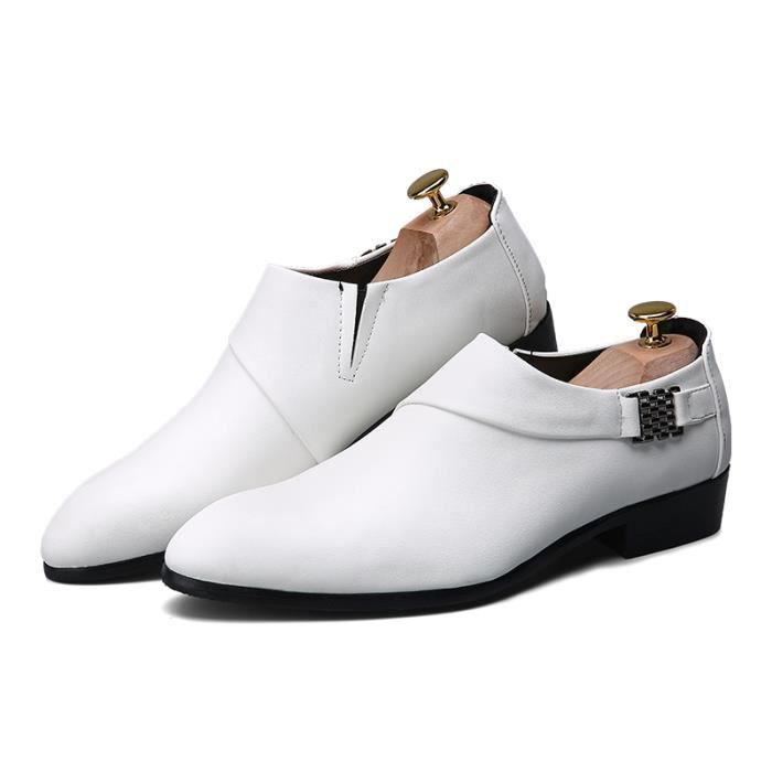 2016Homme Cuir Mocassin Chaussures Formel Flats...