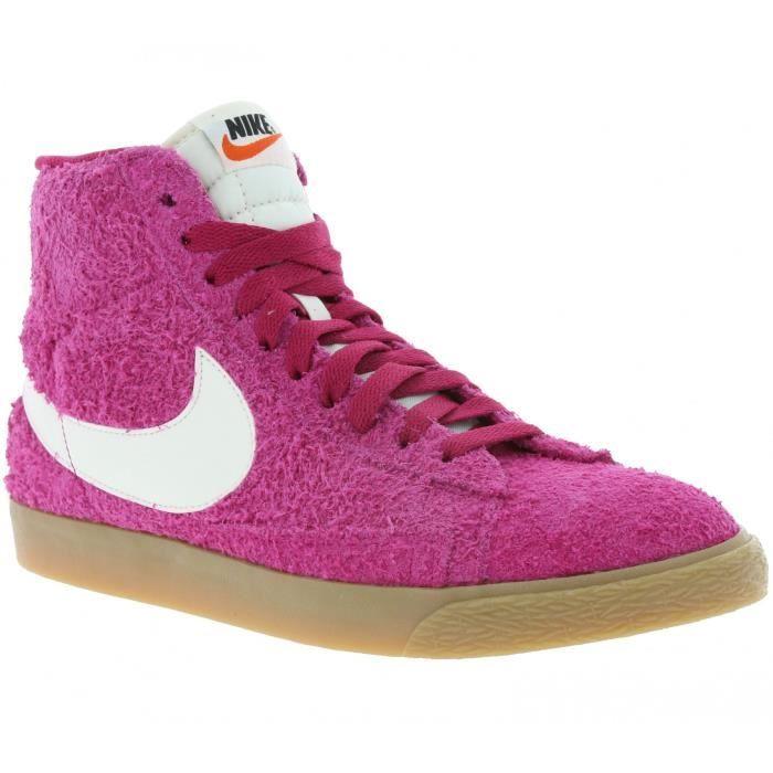Remise Nouveauté Nike Blazer Mid PRM Femmes Chaussures à